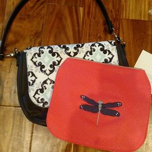 Studio Thirty one bag with strap amd two flaps